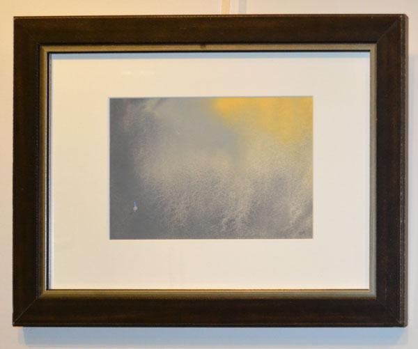 "Sharon Roberts: ""Looking forward"", Gouache, 38 x 50cm"