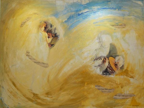 Inspiration, Oil on canvas, 100cm x 140cm