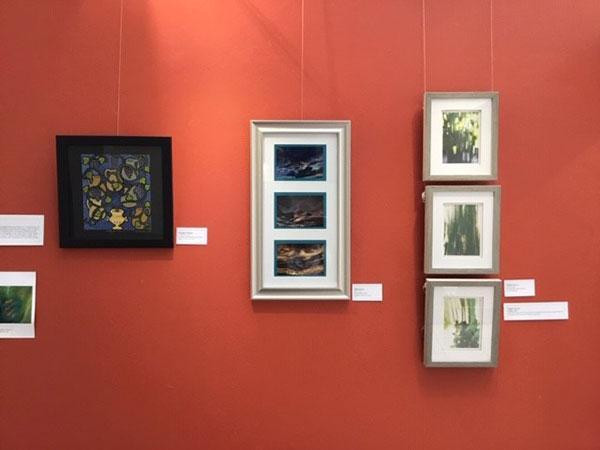 Various artworks by Visionaries Artists